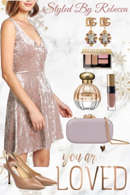 Soft Velvet Date Dress