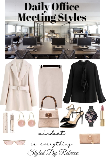 Daily Office Meeting Styles-Work wear