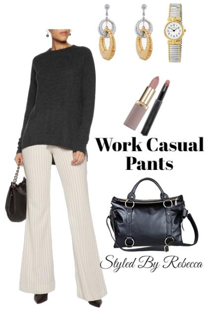 Work Casual Pants-January 31st