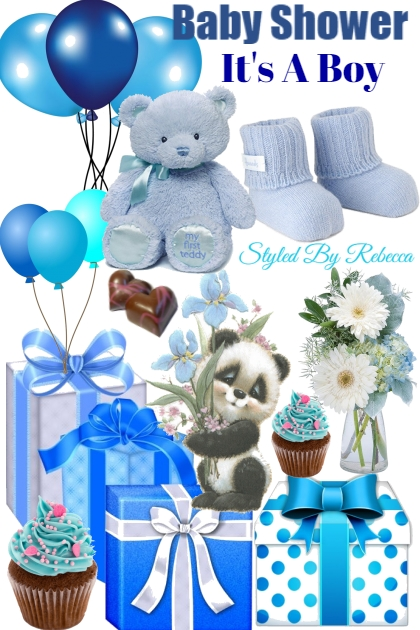 Baby Shower-Its A Boy