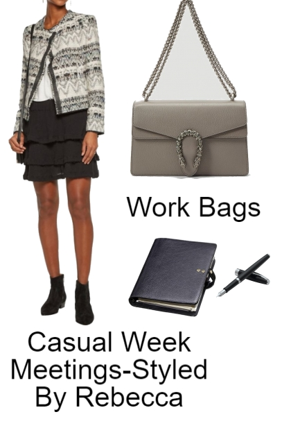 Casual Week Meetings-Style 1