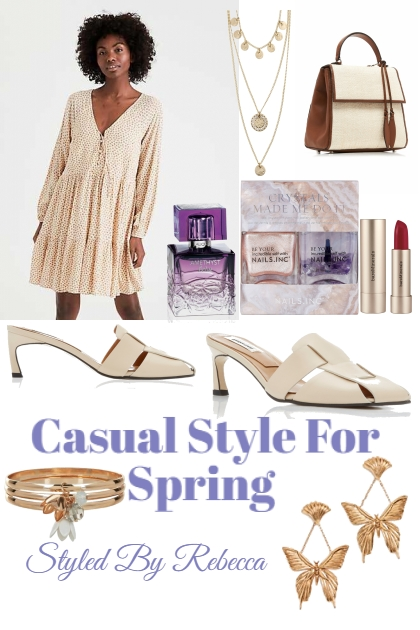 Simple Dress Up -Casual Spring Style