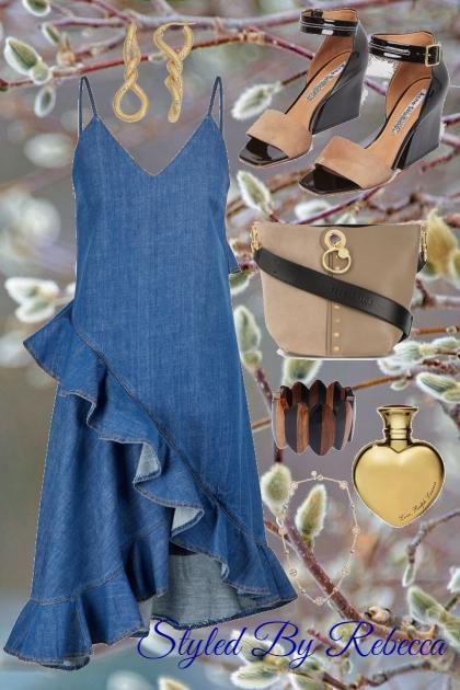 Jean Dress To Impress