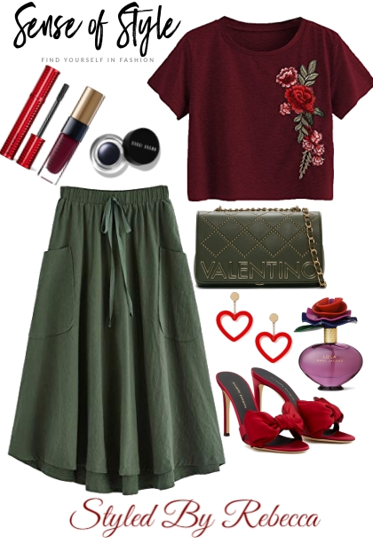 Rose Inspired Fashion
