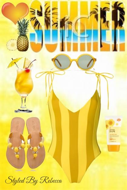 Summer is Golden- Combinazione di moda