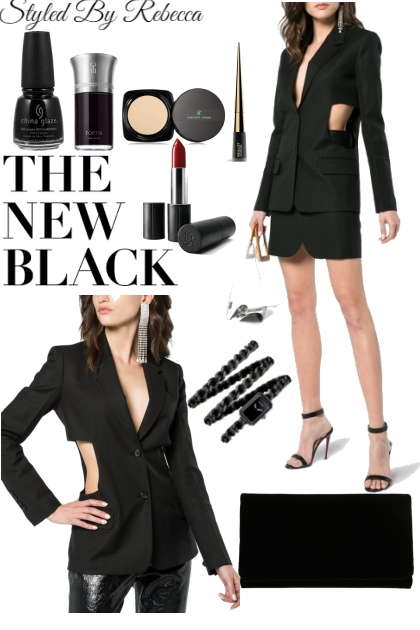 The New Black-City Cut Outs