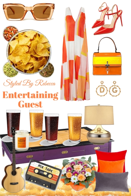 Summer -Entertaining Guest- Combinazione di moda