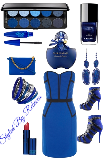 """""""Blue """"For The Club Girl"""