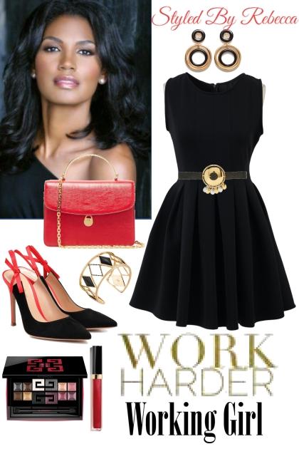 Work Harder Working Girl
