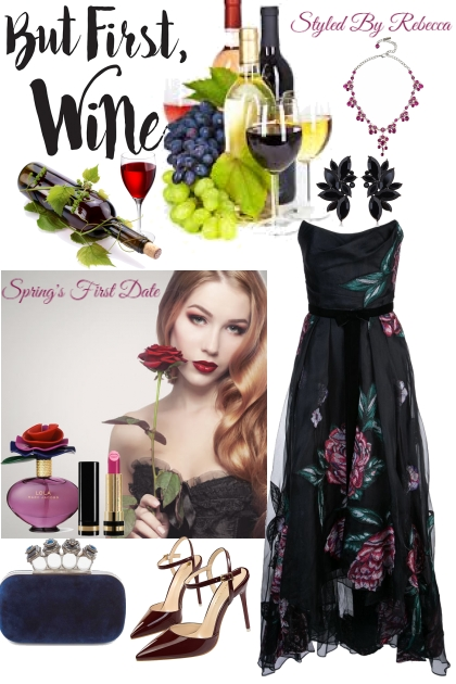 Spring's First Wine Date