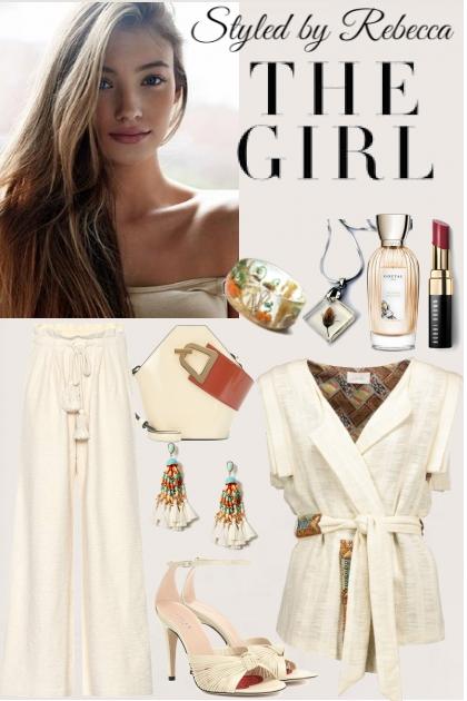 The Girl In Cream