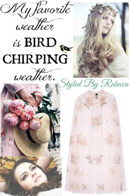 Chirping Weather- Fashion set