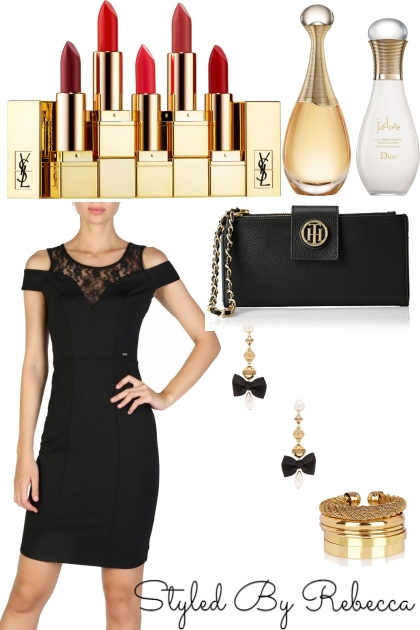Black Dress For The City Life