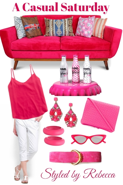 Pink Rocks-Casual Saturday