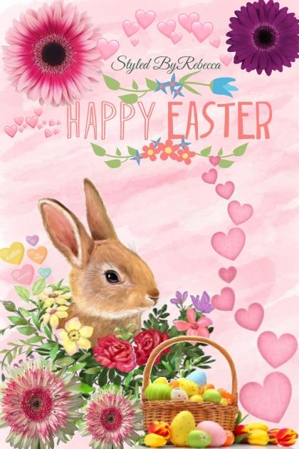 Happy Easter 2020 Art