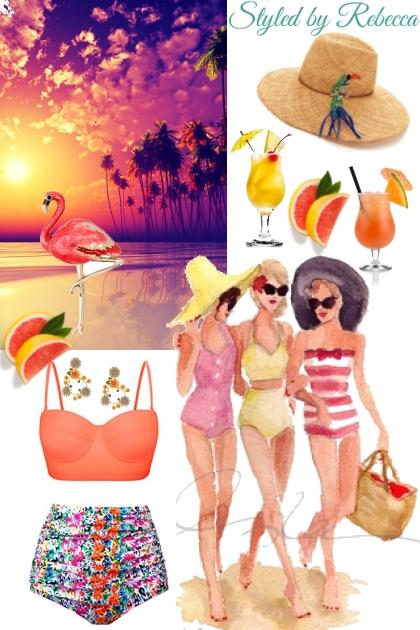 Friends and Sun- Combinazione di moda