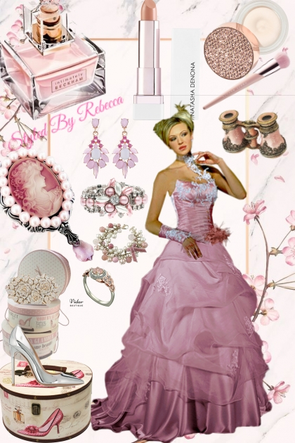 A Princess Evening In Pink