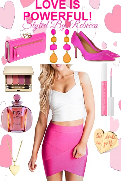 Love Is Powerful In Pink