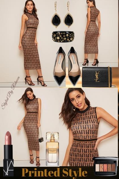 3/31 Printed Style- Fashion set