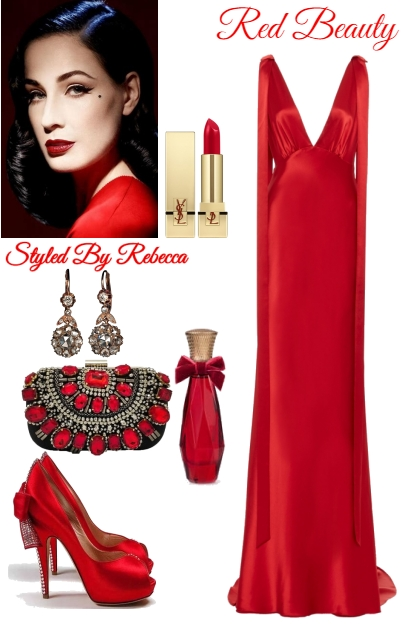 Red Beauty -Dita Glam