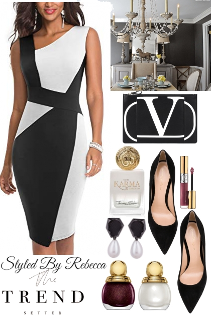 Easter Black And White Trend Setting