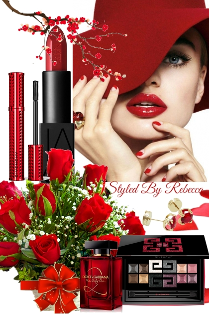 Easter Red- Beauty It Up