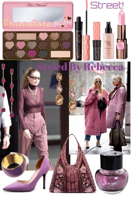 Street Style  Shades Of Purple