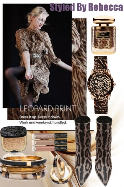 Try Leopard Print  For A  Day