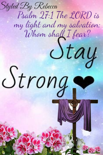 Strong With No Fear