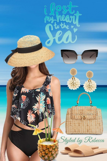 Vacation Dreaming Lost At The Sea- Combinazione di moda