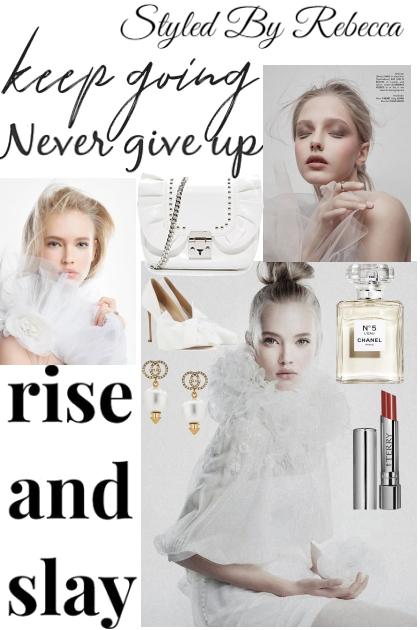 Keep Going and Slay- Combinazione di moda