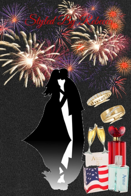 4th Of July Wedding Sparks- Fashion set