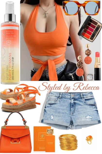 Orange You Glad Summer Is Back?- Modna kombinacija