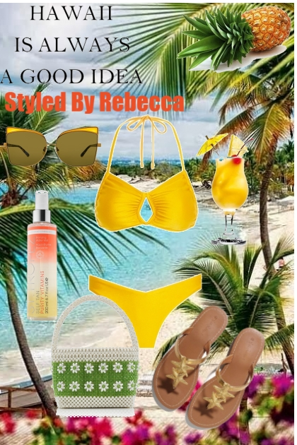A Good Idea-Vacation!- Combinazione di moda