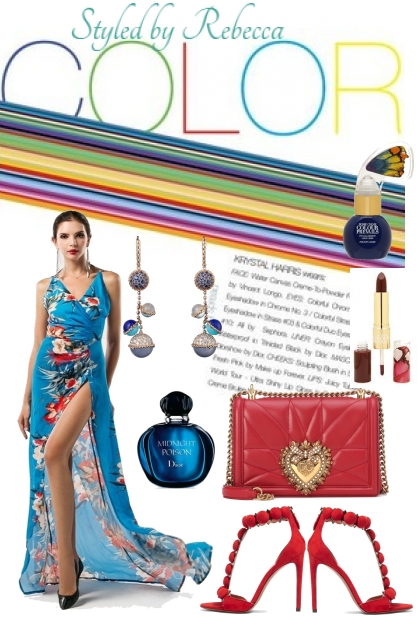 Colors  For A Summer Tropic Party