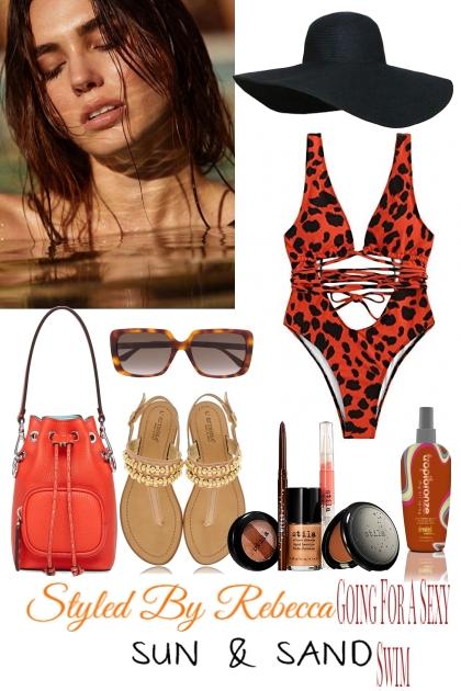 Going For A Sexy Swim- Combinazione di moda