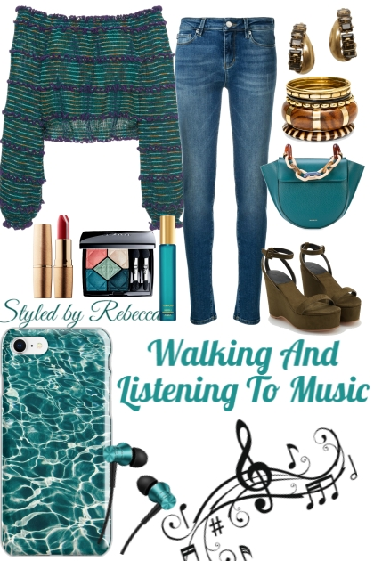 Listening To Music On A Walk