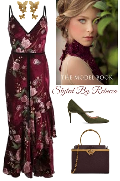 The Model Book  Of Florals