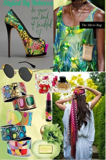 Hippie In tropics