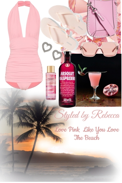 Pink And The Beach