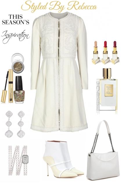 Ornament White- Fashion set