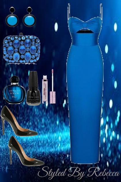 Blue Fashion Night
