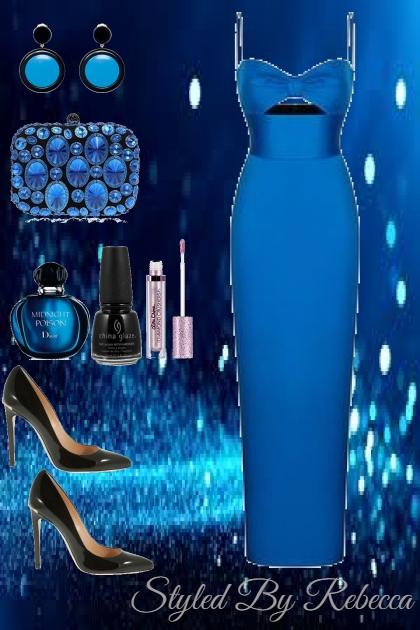 Blue Fashion Night - Fashion set