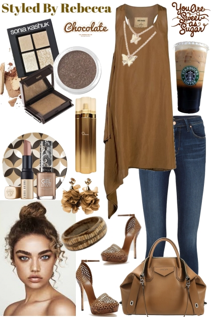 CHOCOLATE LATTE DAY- Fashion set
