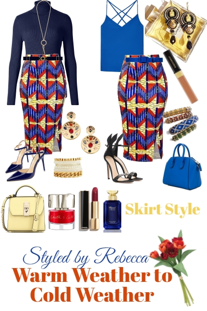 Warm Weather/Cold Weather Skirt Style- Fashion set