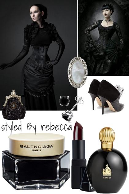 Vintage Dark- combinação de moda