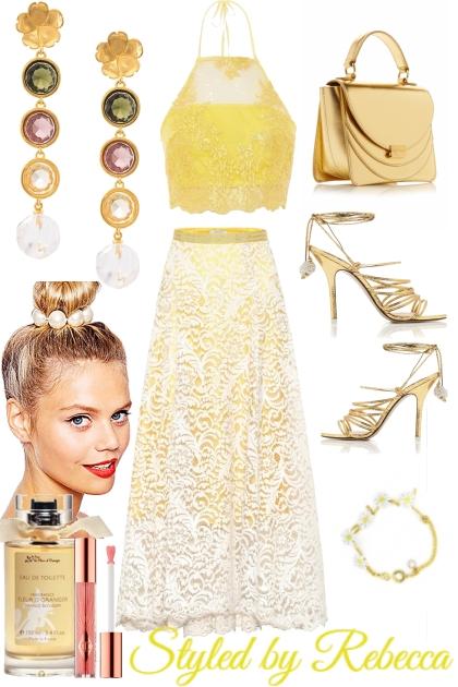 summer golden lace