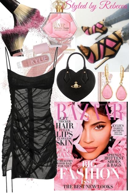 The Pink Lips- combinação de moda