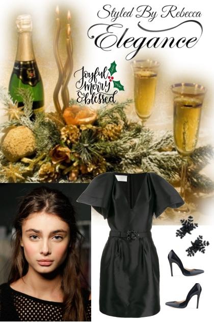 Holiday Elegance- combinação de moda