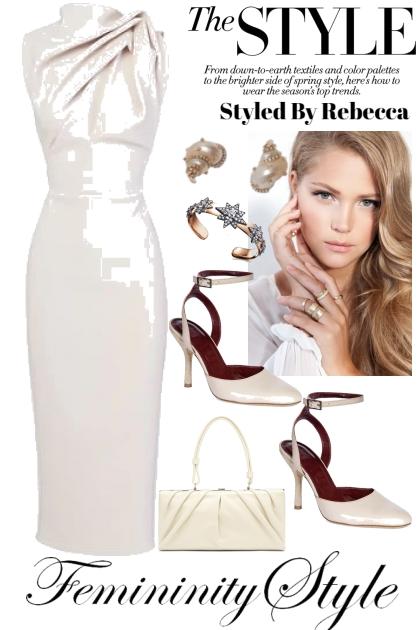 The Femininity Of Style- combinação de moda